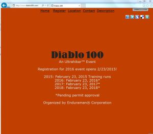Diablo100HomePage